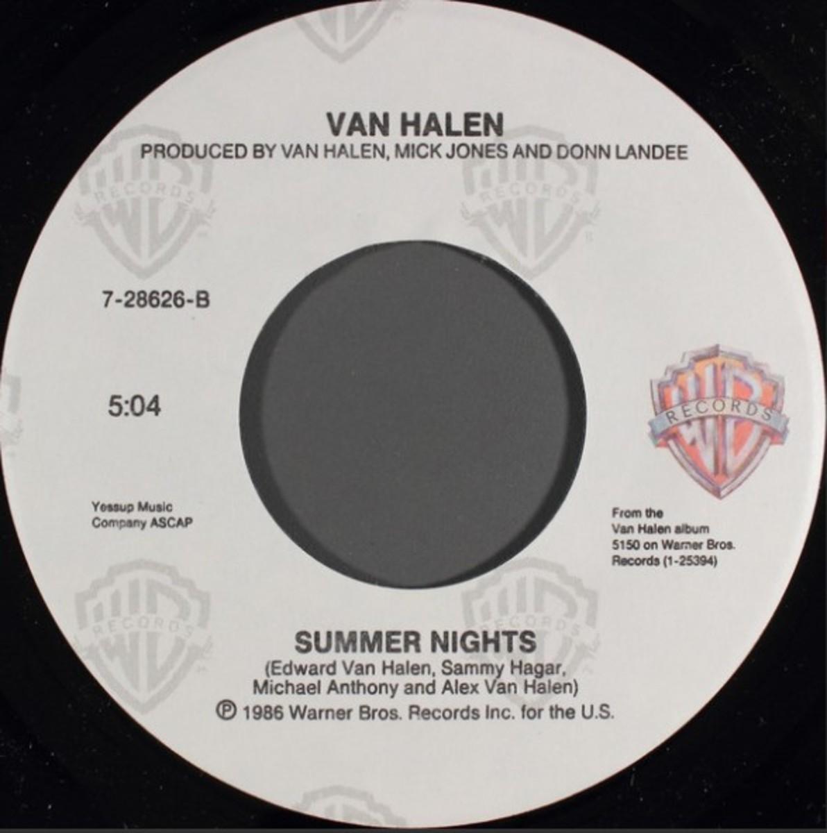 Eddie Van Halen flip side