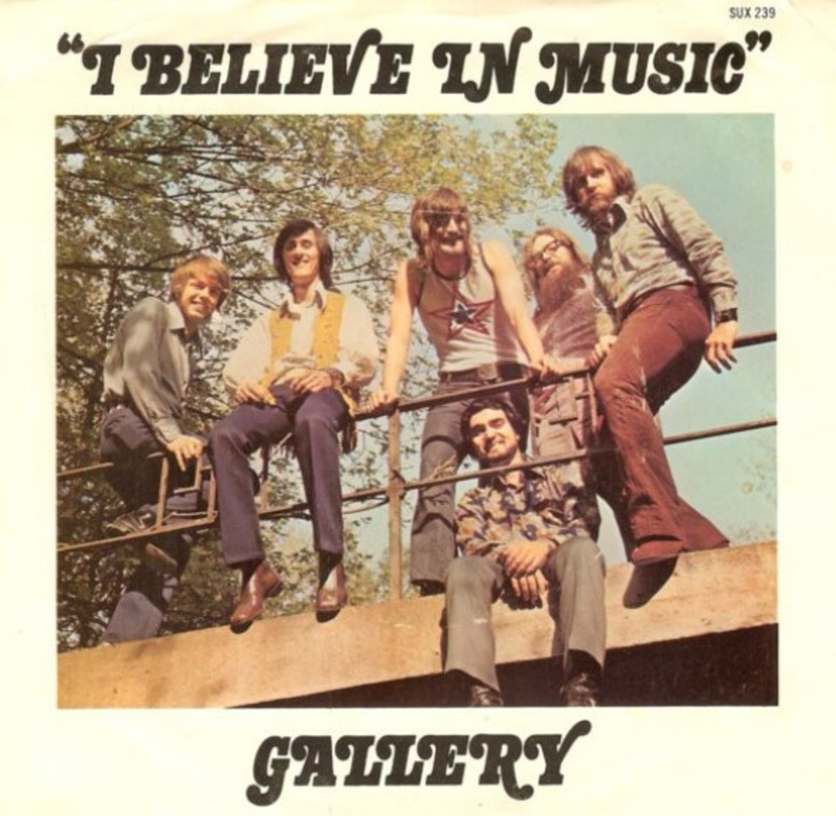 45 picture sleeve photo, Jim Gold second from the left