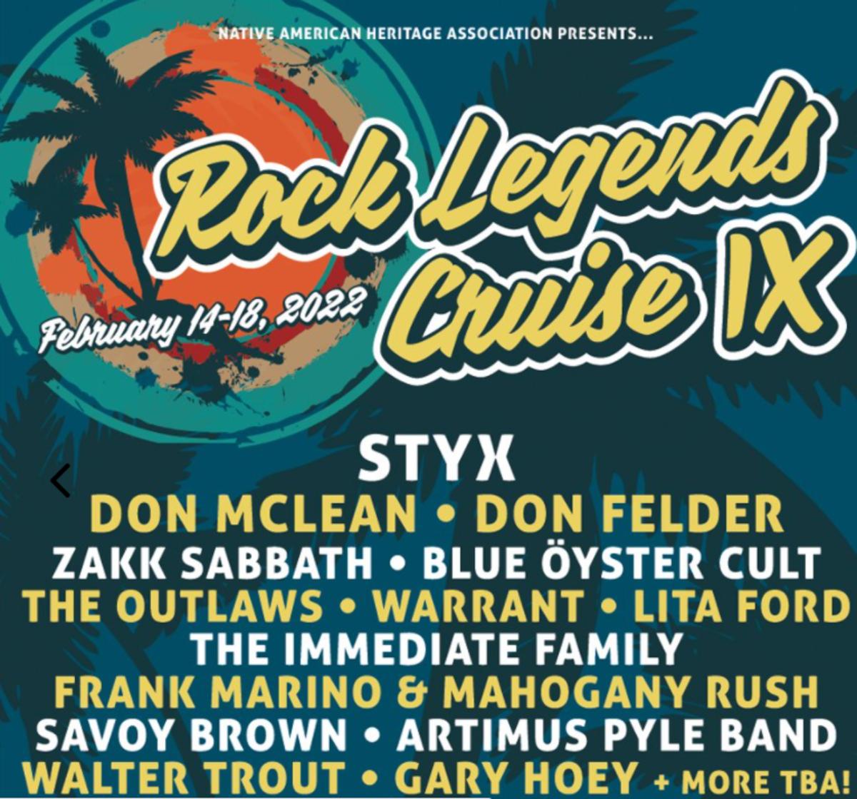 Don McLean cruise