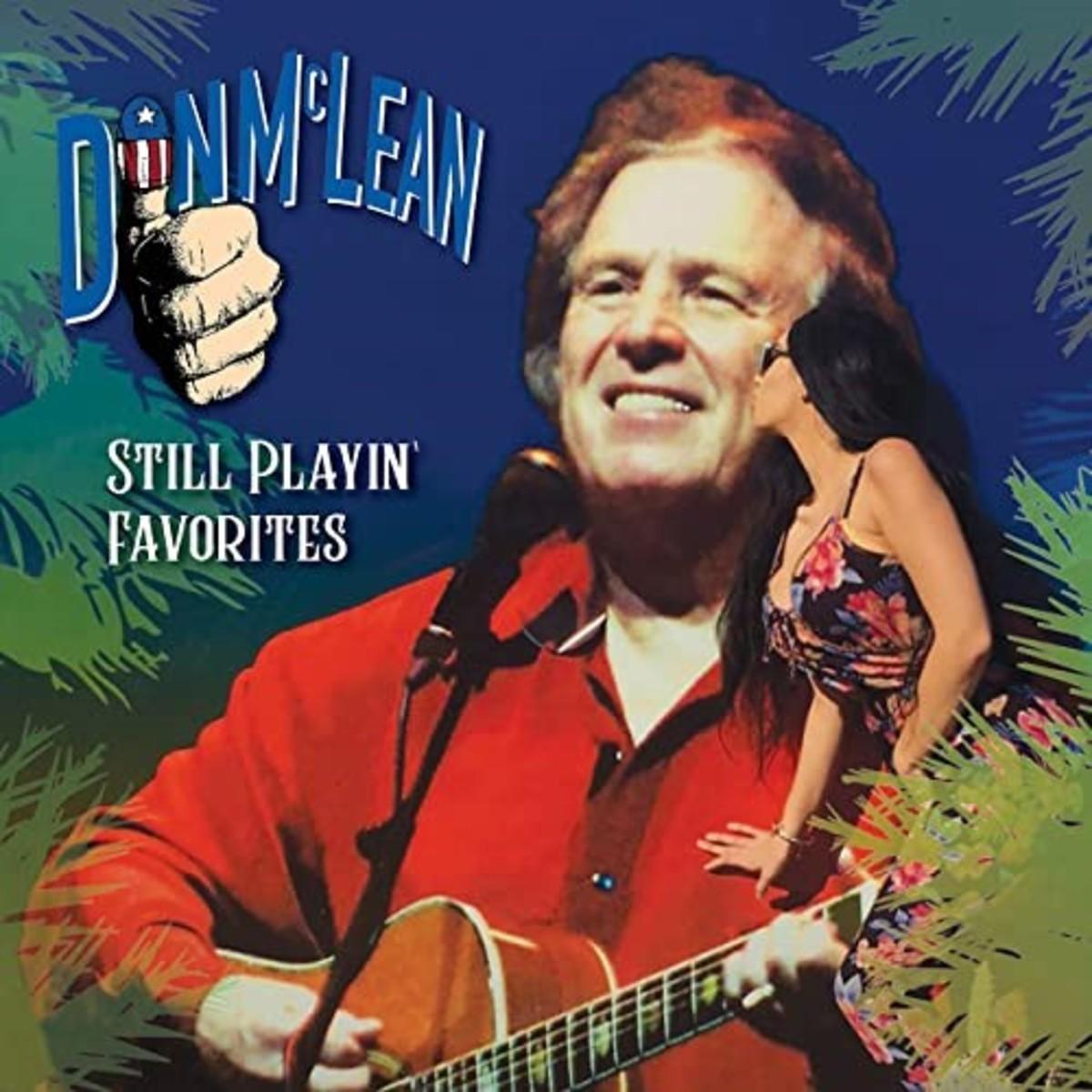 Don McLean playin