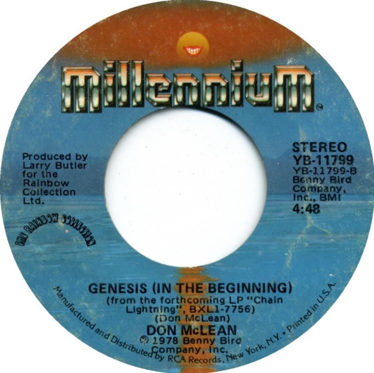Don McLean Genesis