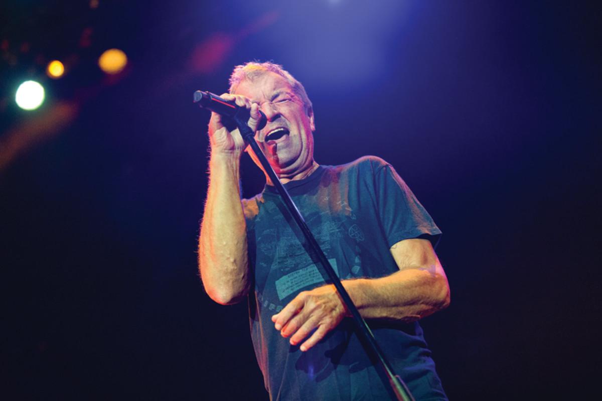 Deep Purple vocalist Ian Gillan