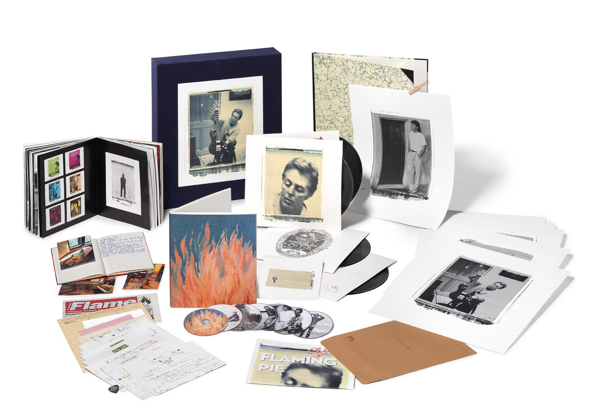 The Collector's Edition of Paul McCartney's Flaming Pie.