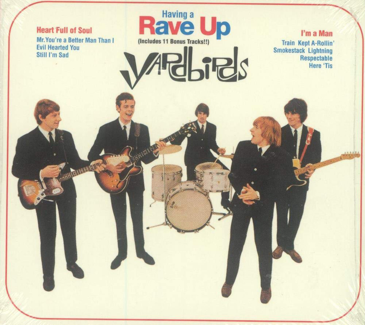 The Yardbirds, Having A Rave Up