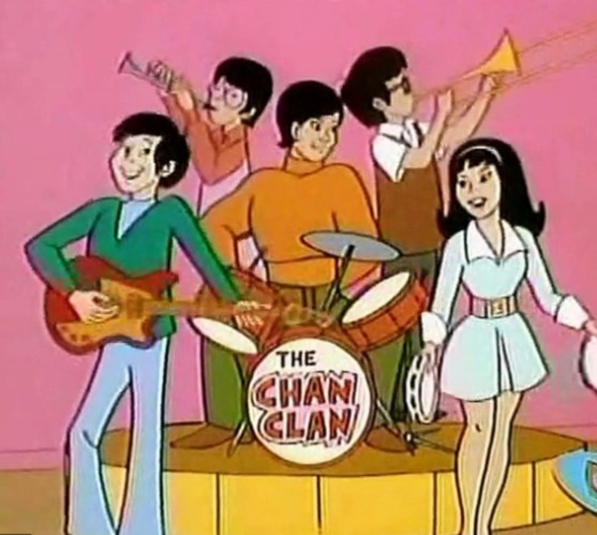 The Amazing Chan and The Chan Clan, Hanna-Barbera Productions, 1972
