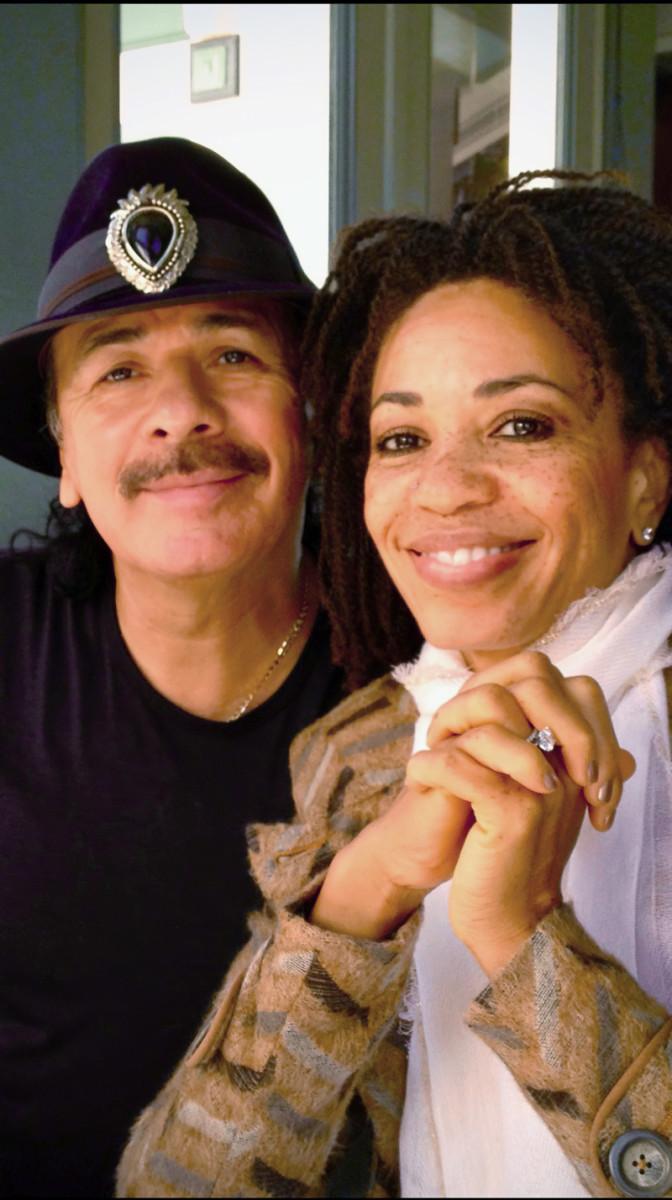 Carlos and Cindy Blackman Santana. Photo courtesy of Jensen Communications.