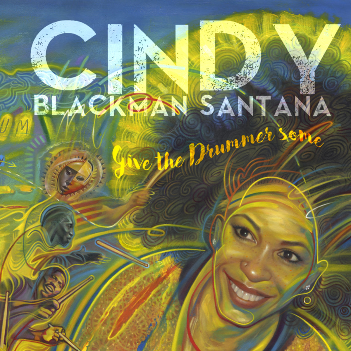 Cindy Blackman Santana_Give the Drummer Some cover