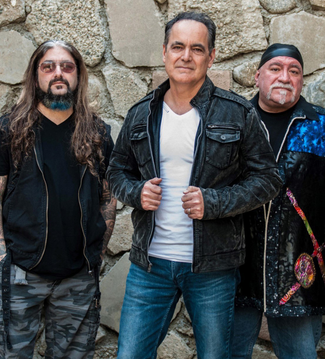 Cover to Cover project (L-R): Mike Portnoy, Neal Morse and Randy George. Publicity Photo.
