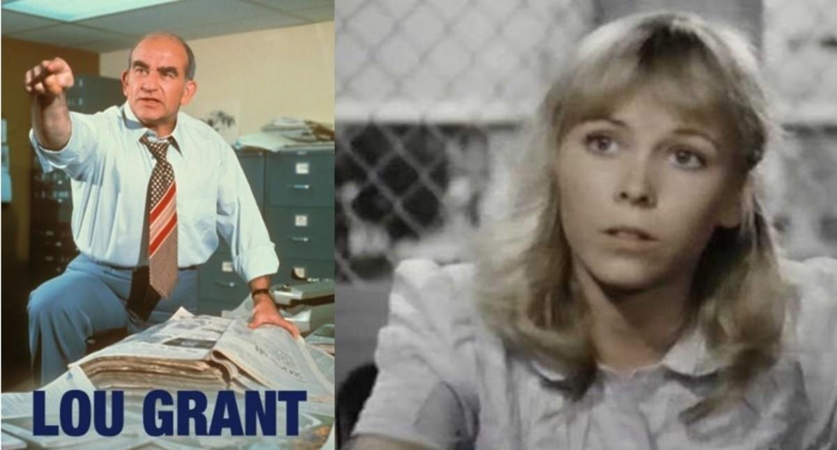 Ed Asner and Terri Nunn, 1981, CBS