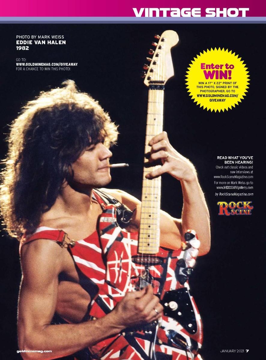 January_2021 Eddie Van Halen Vintage Shot