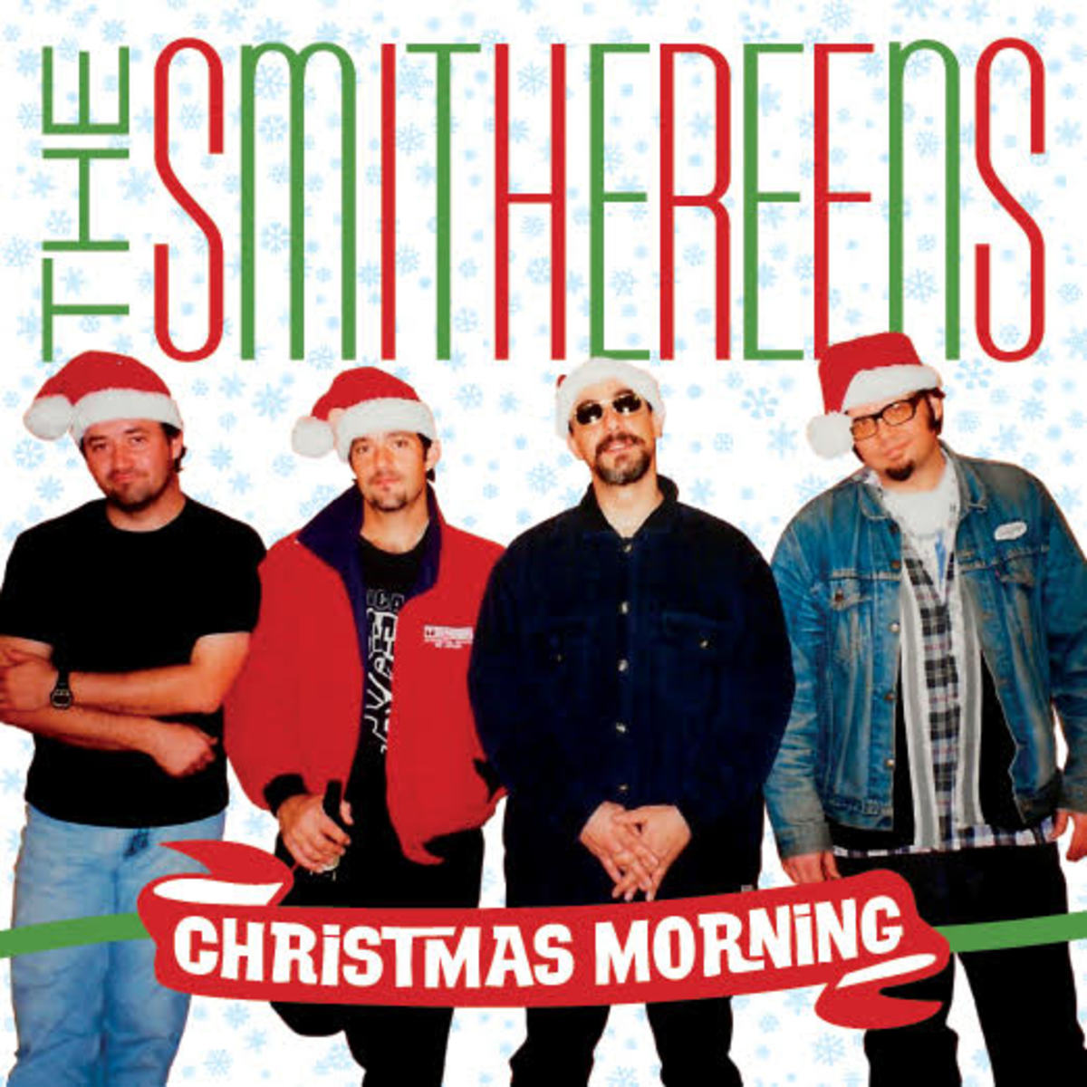 """The Smithereens' """"Christmas Morning"""" single is available as a seven-inch, green vinyl 45-RPM single and as a digital download."""