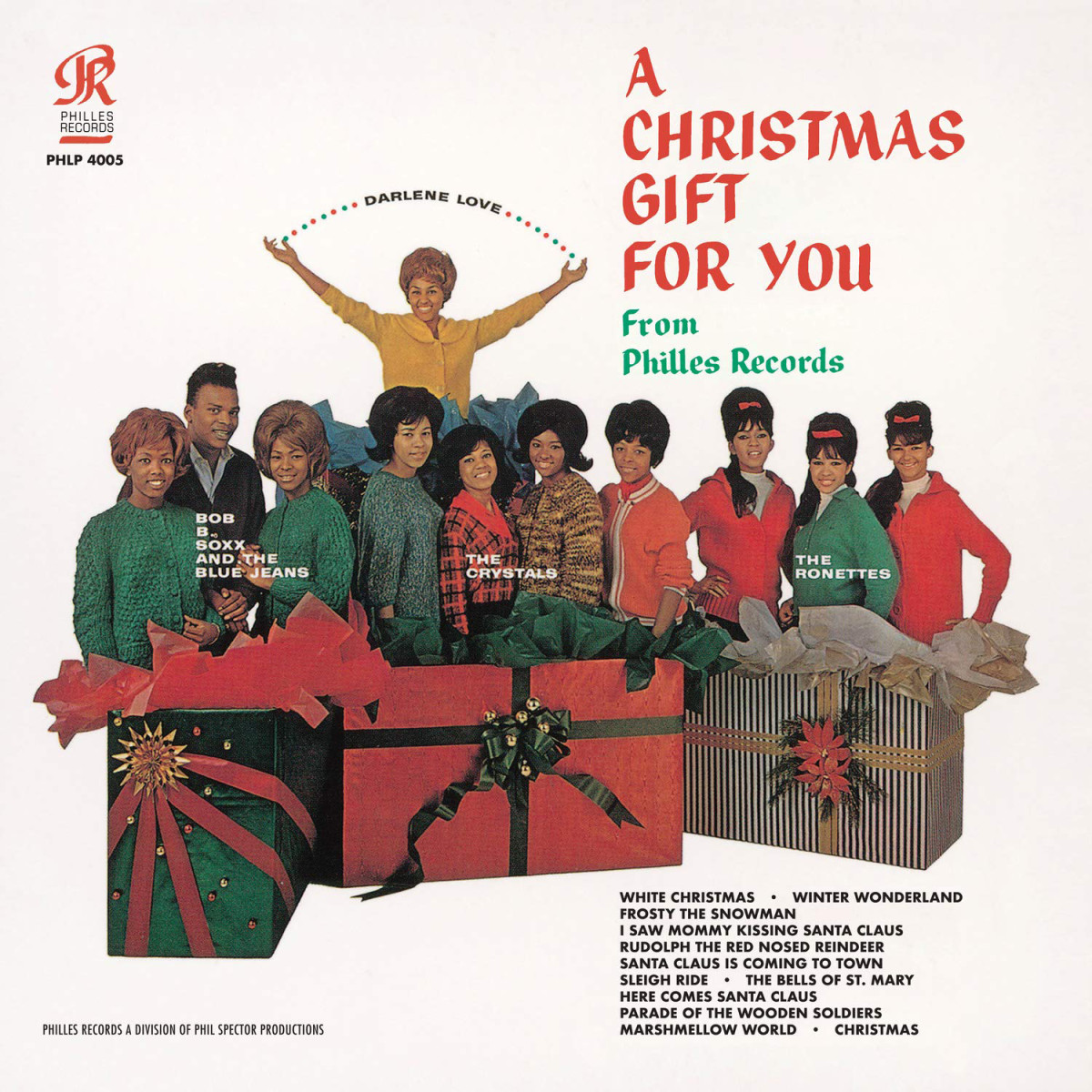 Sony's Legacy Recordings reissues the classicA Christmas Gift For You From Philles Recordson vinyl.