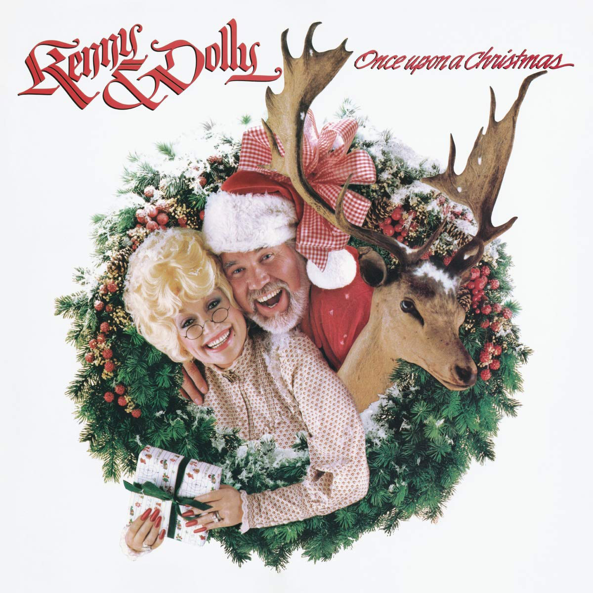 """Do it up country style with Sony Legacy's """"Kenny Rogers & Dolly Parton's Once Upon a Christmas."""""""