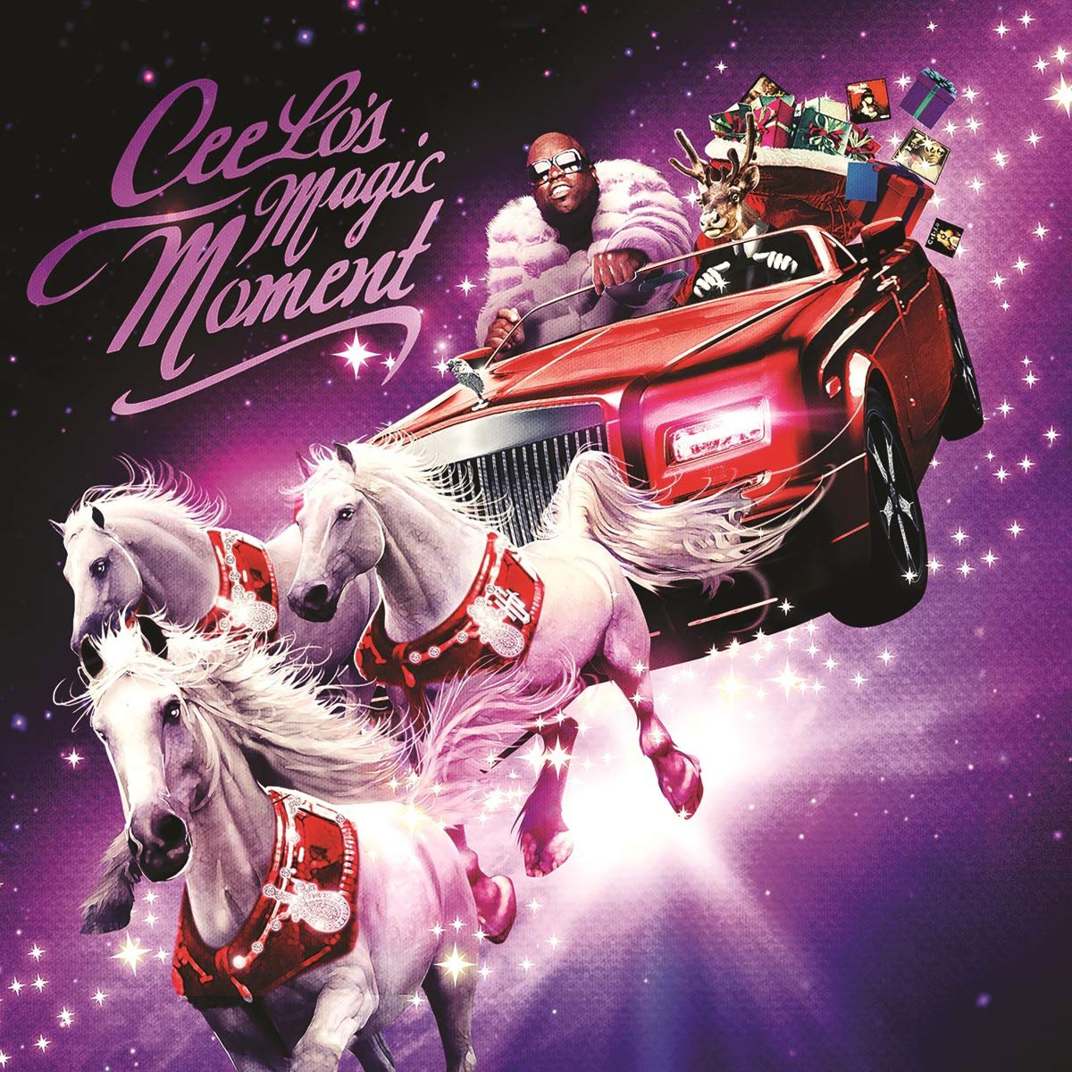"""Cee Lo's """"Magic Moment"""" is released on a 'Limited Christmas Green Vinyl.'"""