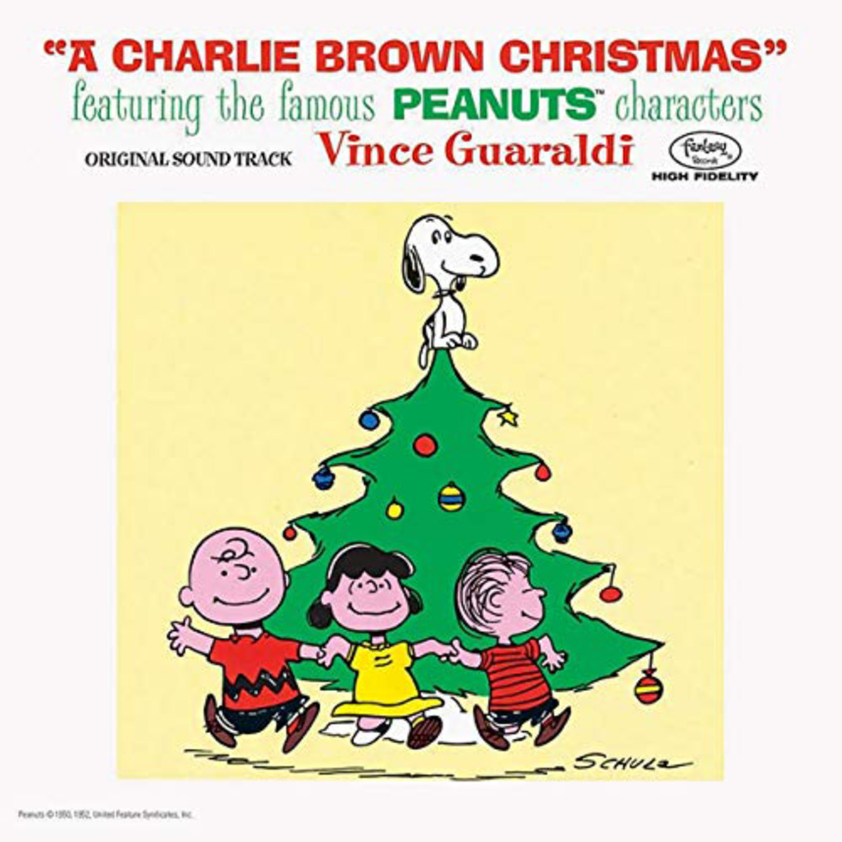 Craft Recordings'A Charlie Brown Christmas is full of classics by the Vince Guaraldi Trio.