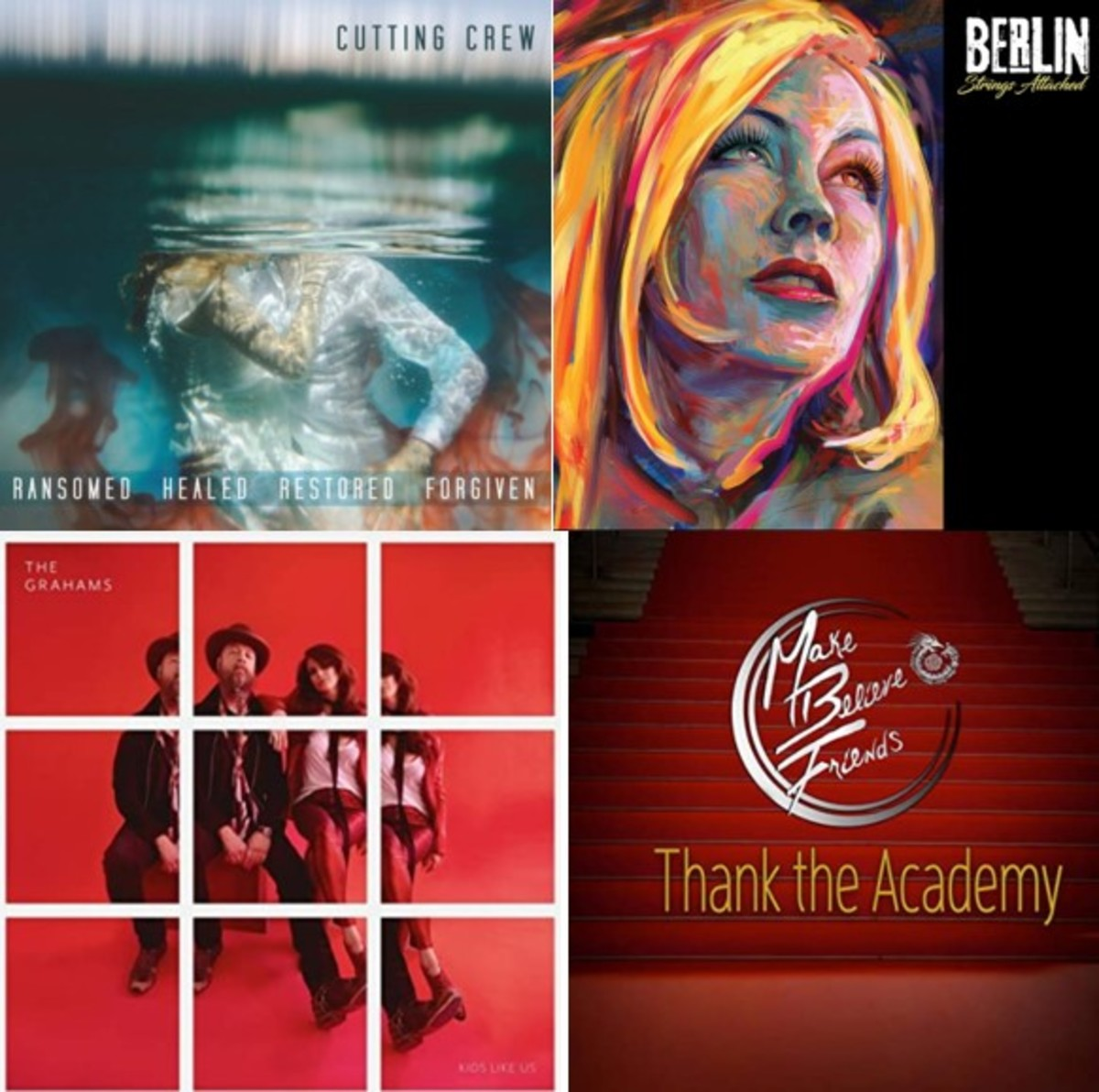 Cutting Crew, Berlin, The Grahams, and Make Believe Friends