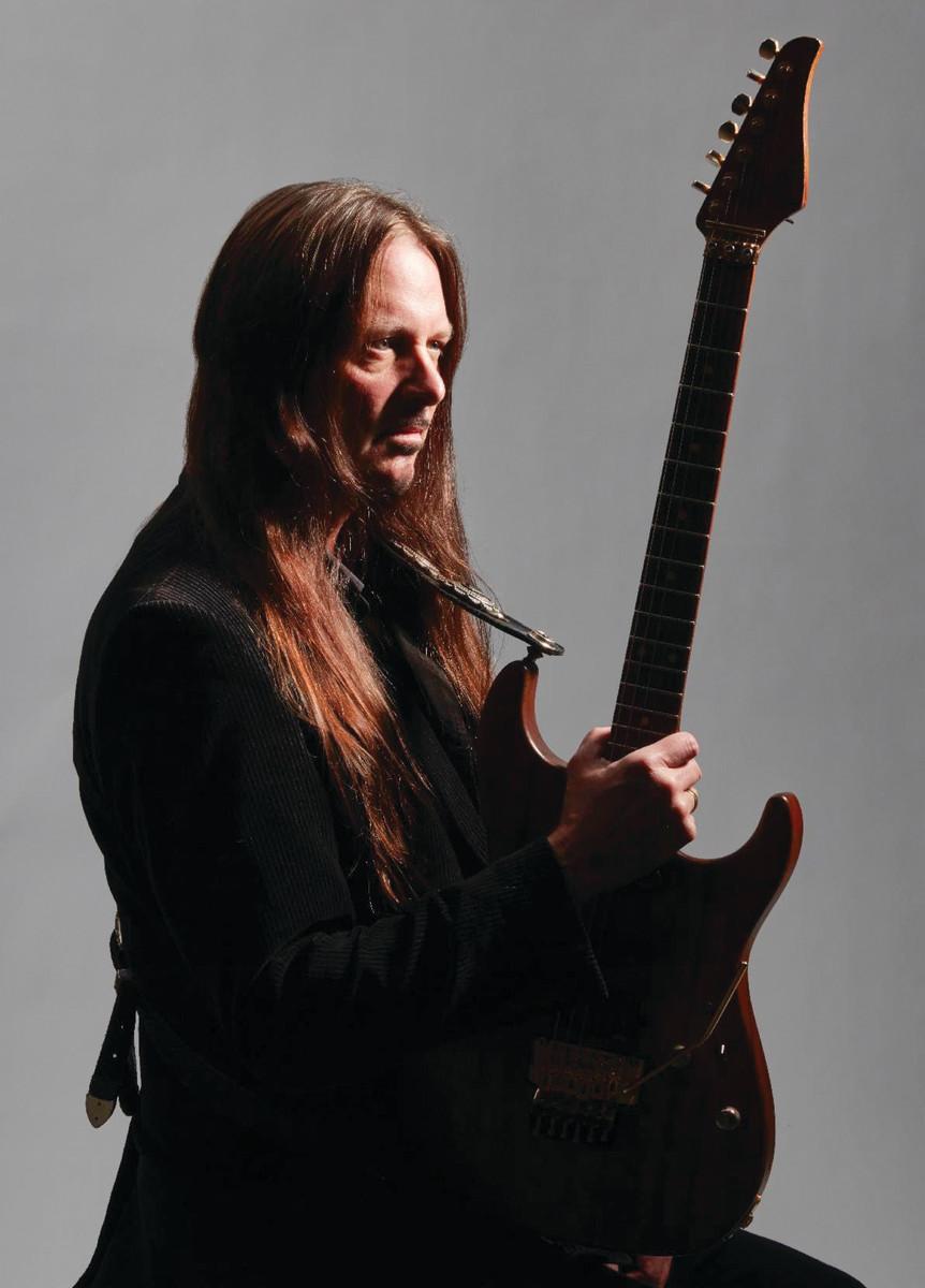 Guitarist Reb Beach, 2020. Publicity photo
