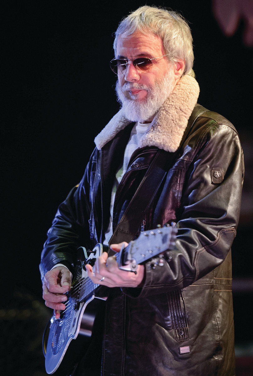 Yusuf/Cat Stevens, present day. Photo by Leon Neal/AFP via Getty Images.