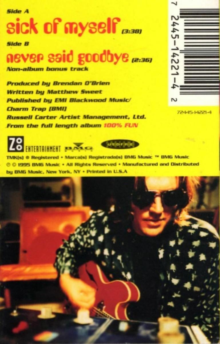 Matthew Sweet cassette single