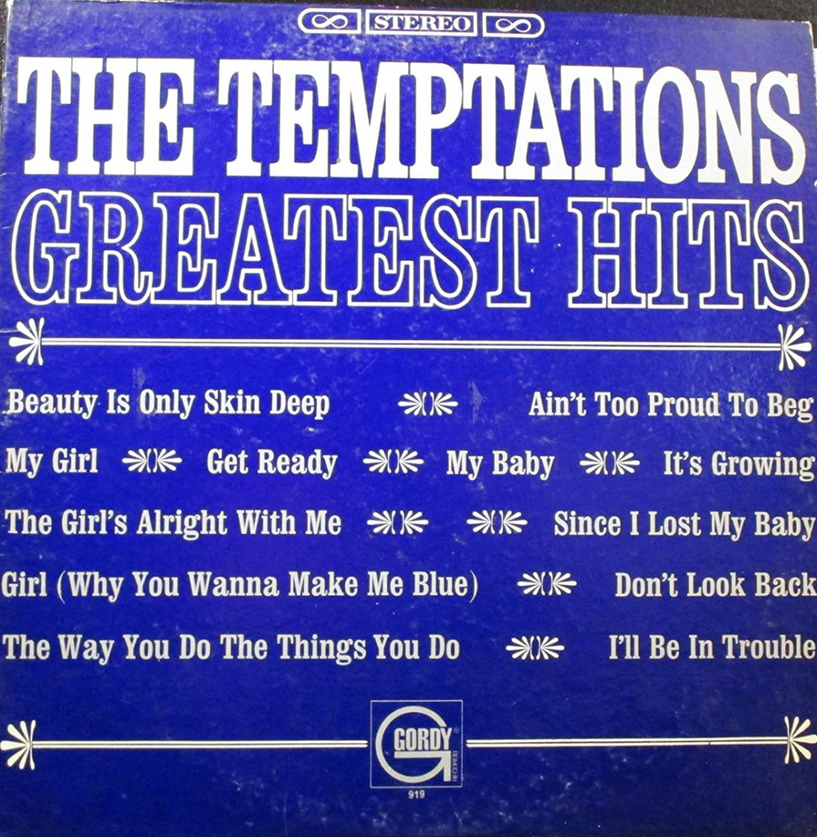 The Temptations — Greatest Hits