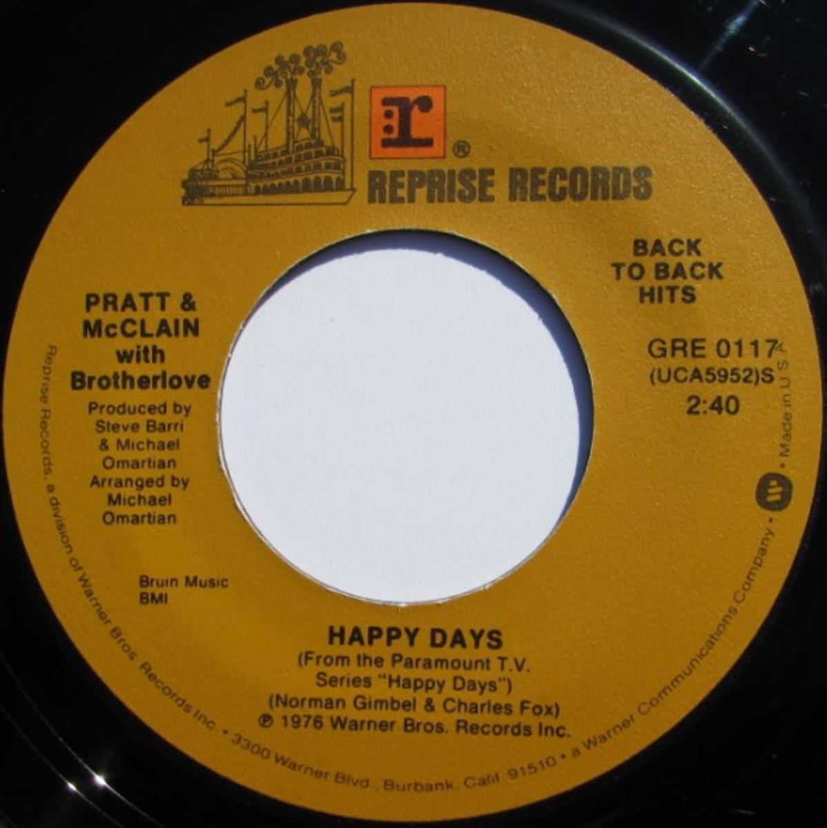 Charles Fox Happy Days