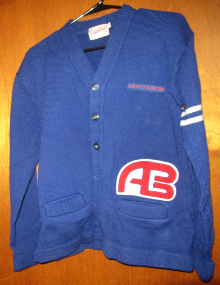 American Bandstand sweater from 1960