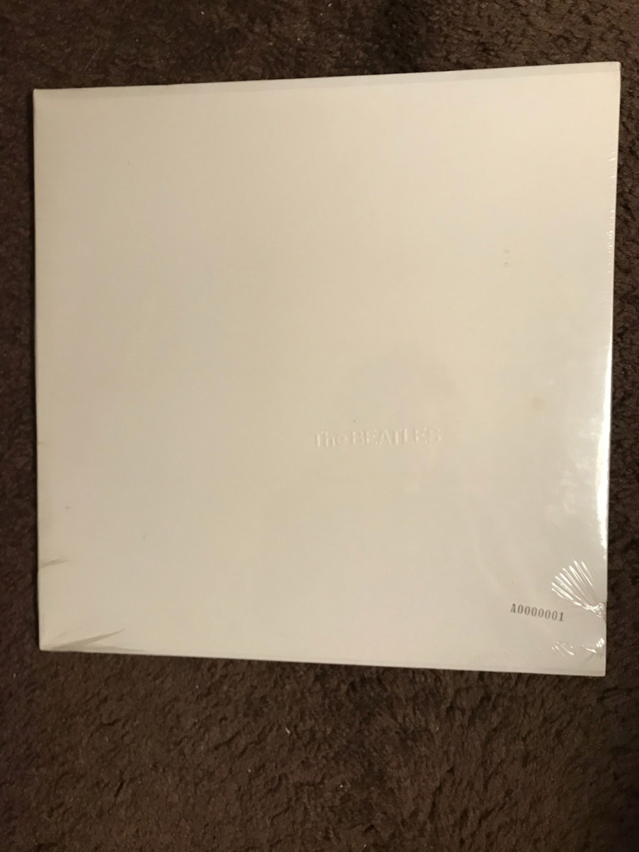 Factory Sealed Numbered 1 Beatles White Album