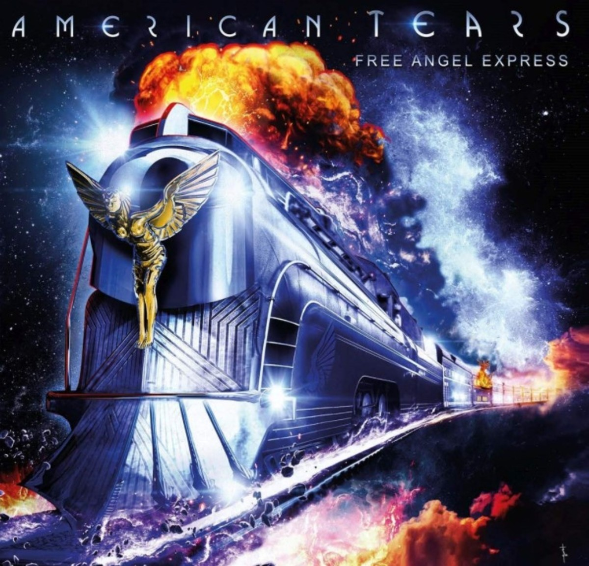 American Tears Free Angel Express CD cover
