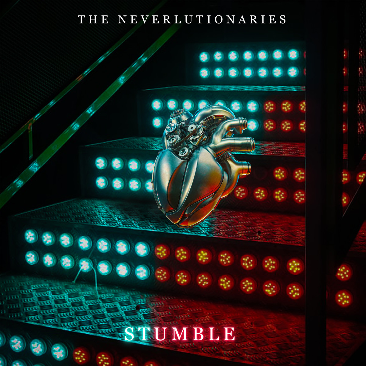 The Neverlutionaries - Stumble - Single Artwork