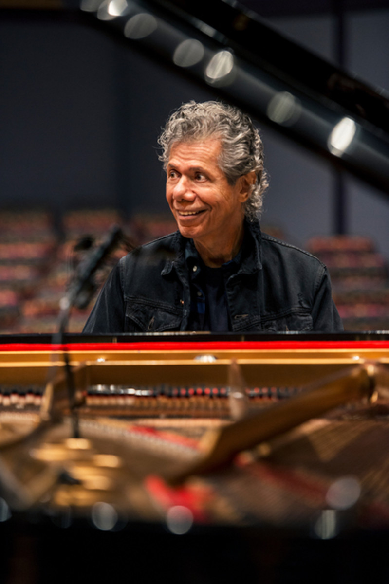 Chick Corea. Photo by Toshi Sakurai courtesy of Chick Corea Productions,