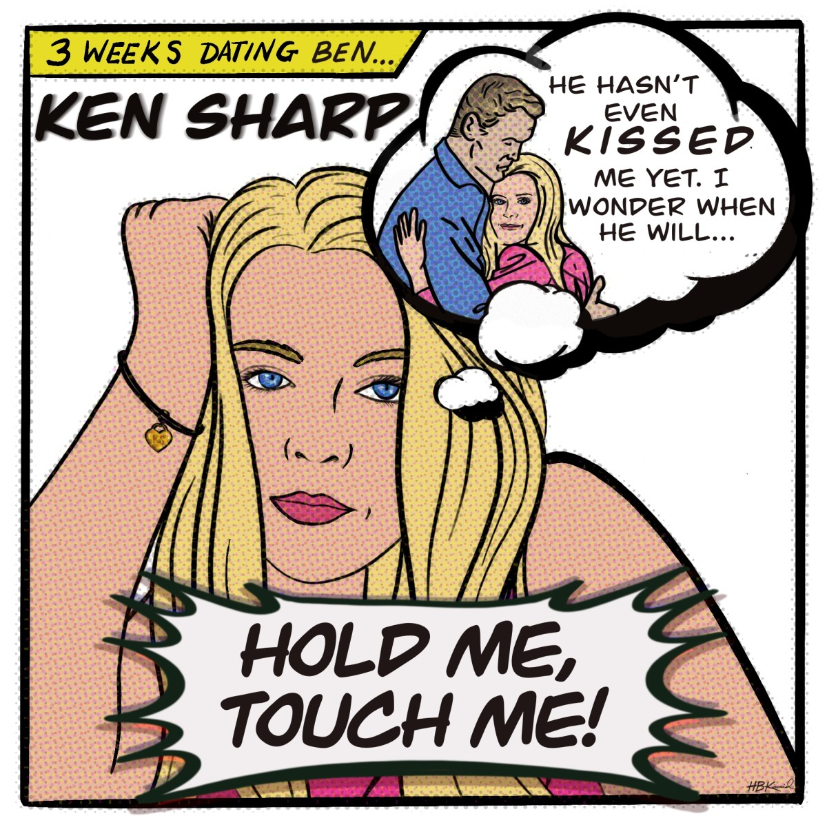 KEN SHARP HOLD ME TOUCH ME