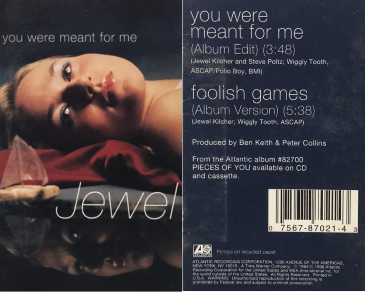 Jewel cassette single