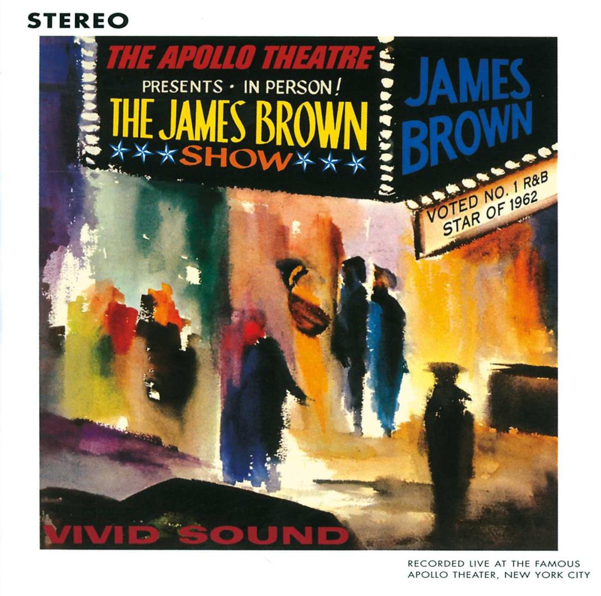 James Brown, Live At The Apollo