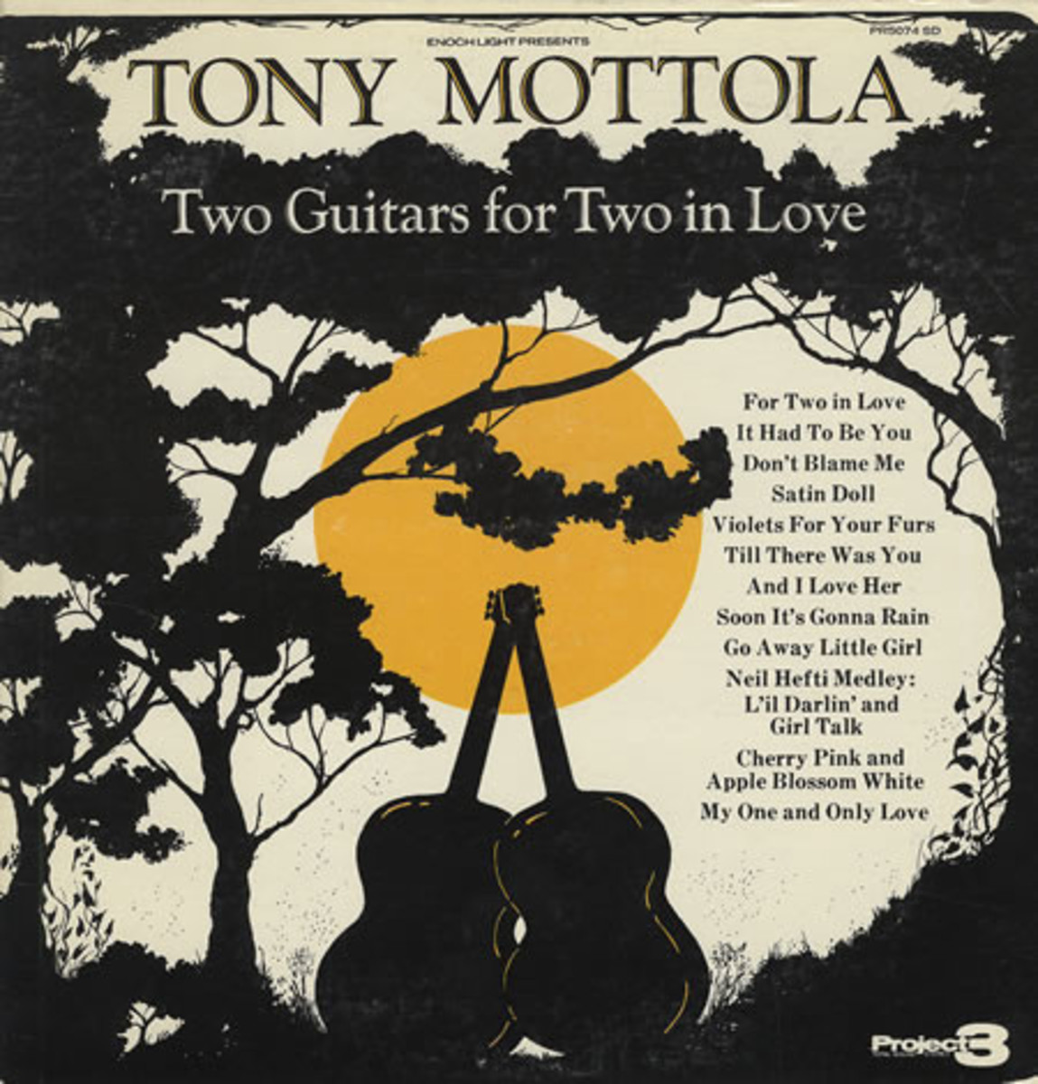 Two Guitars for Two in Love Tony Mottola.