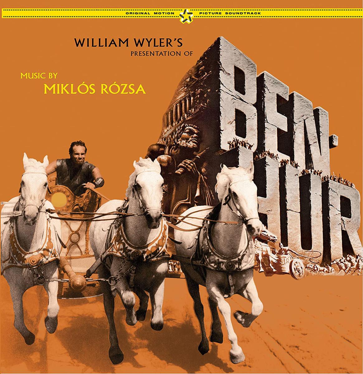 Music by Miklos Rozsa, Soundtrack album of William Wyler's Ben Hur