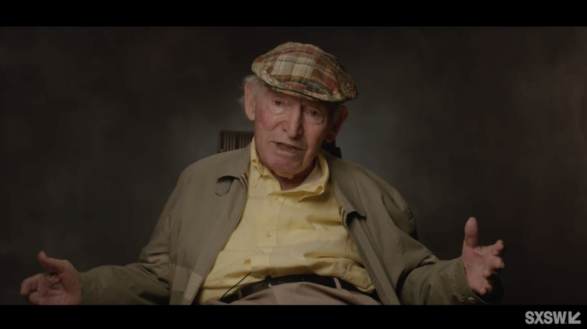 """George Wein, founder of the New Orleans Jazz & Heritage Festival, in """"Jazz Fest: A New Orleans Story."""""""
