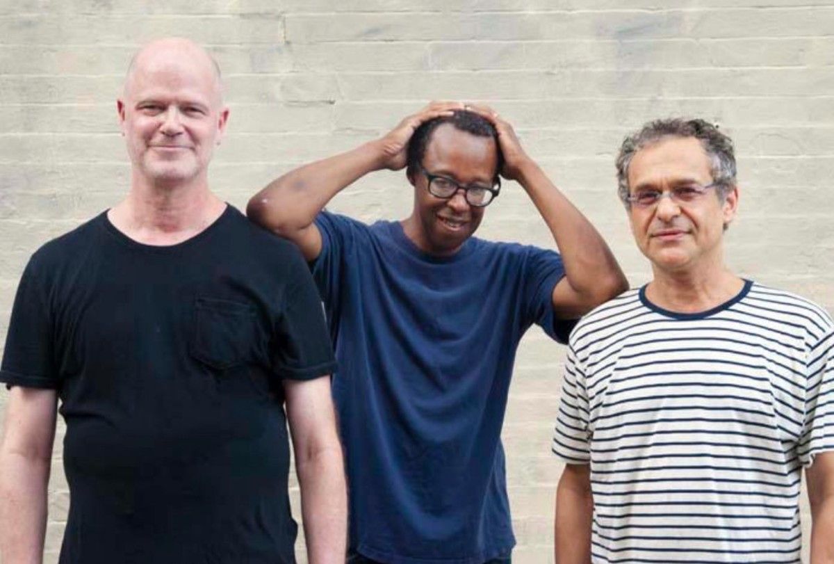 (Left to Right) Walt Dickey, Matthew Shipp and Ivo Perelman by Enid Farber