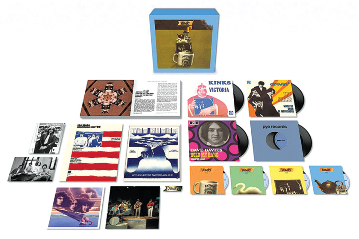 The 50th anniversary 4-CD deluxe box set culling 81 tracks; a newly remastered version of the original album, sporting outtakes, alternate cuts, B-sides, BBC mixes, rehearsal tracks, the complete lost Dave Davies' solo album, along with a softback book and various Kinks ephemera.