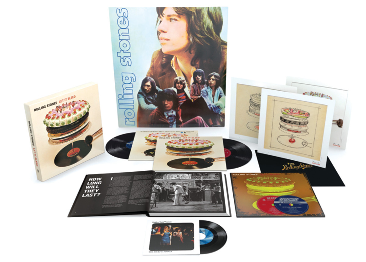 LET IT BLEED 50TH ANNIVERSARY LIMITED DELUXE EDITION