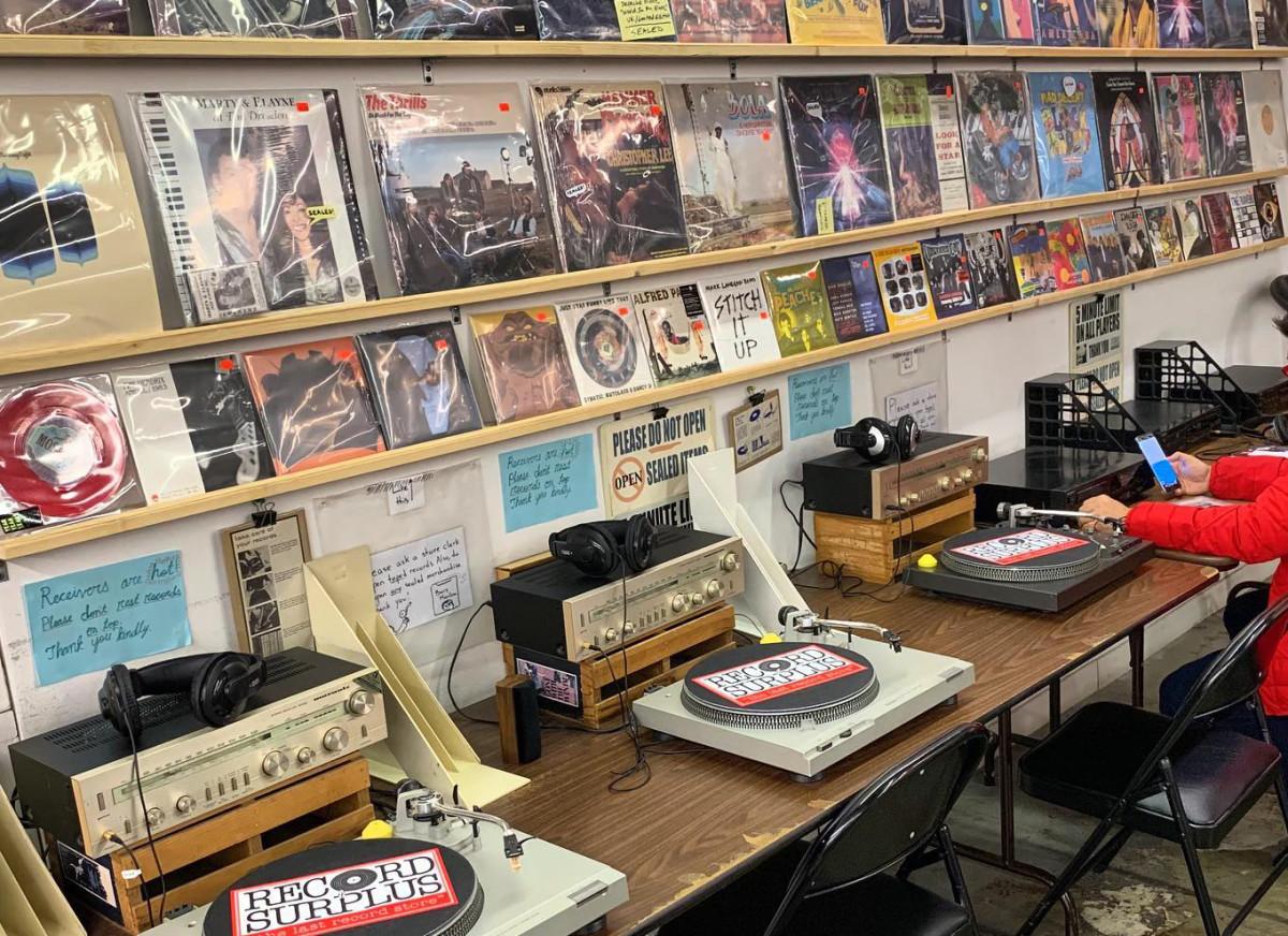 Record Surplus in Los Angeles, CA