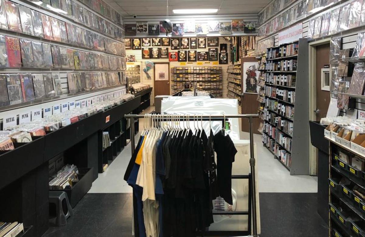 Rockaway Records in Los Angeles, CA