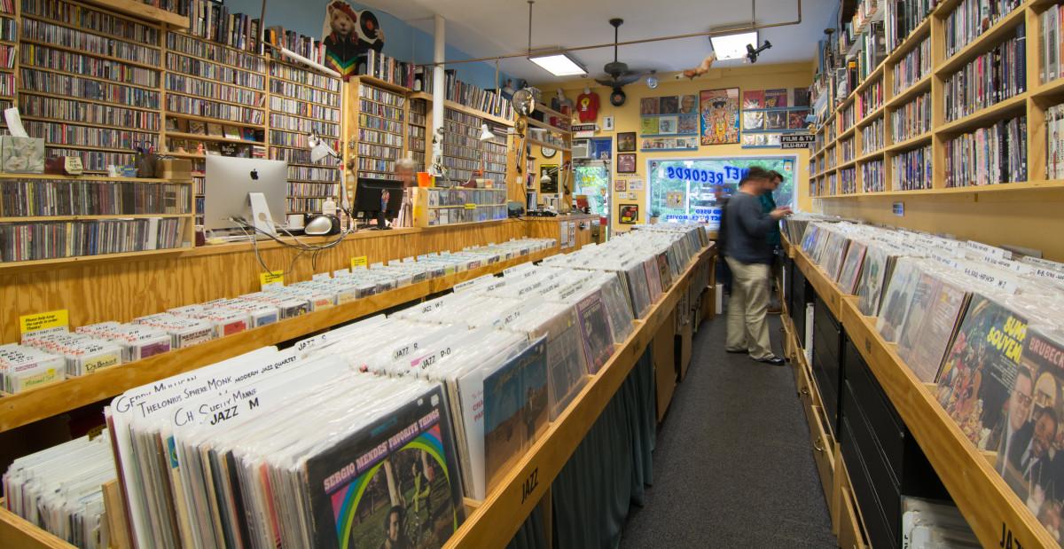 Planet Records in Cambridge, MA