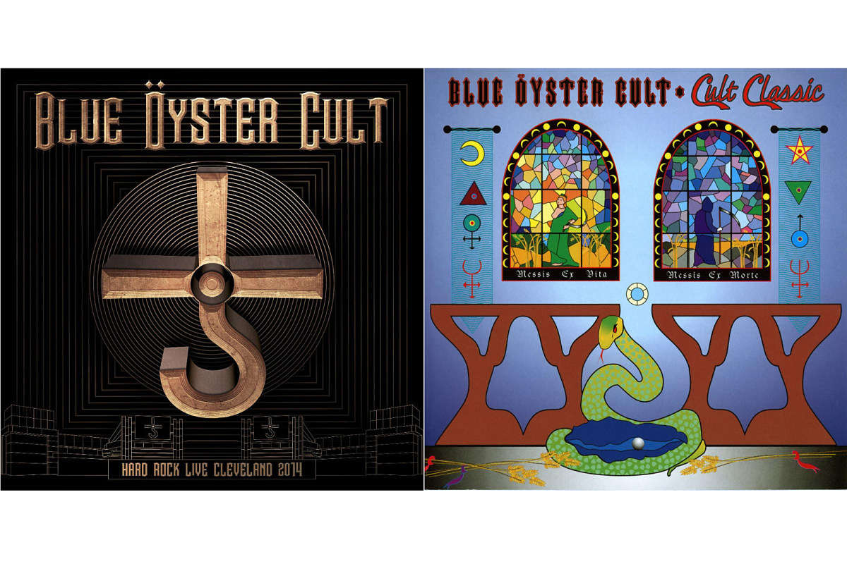 Blue Oyster Cult's Hard Rock Live Cleveland 2014 and the re-release of 1994's compilation Cult Classic.