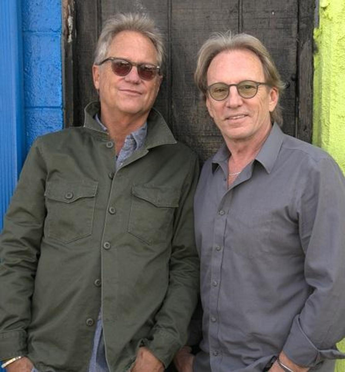 From left: Gerry Beckley and Dewey Bunnell