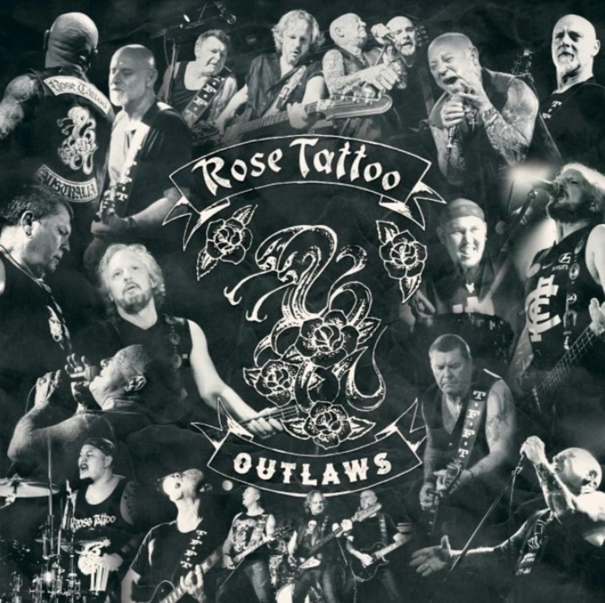 Rose Tattoo Outlaws album   cover