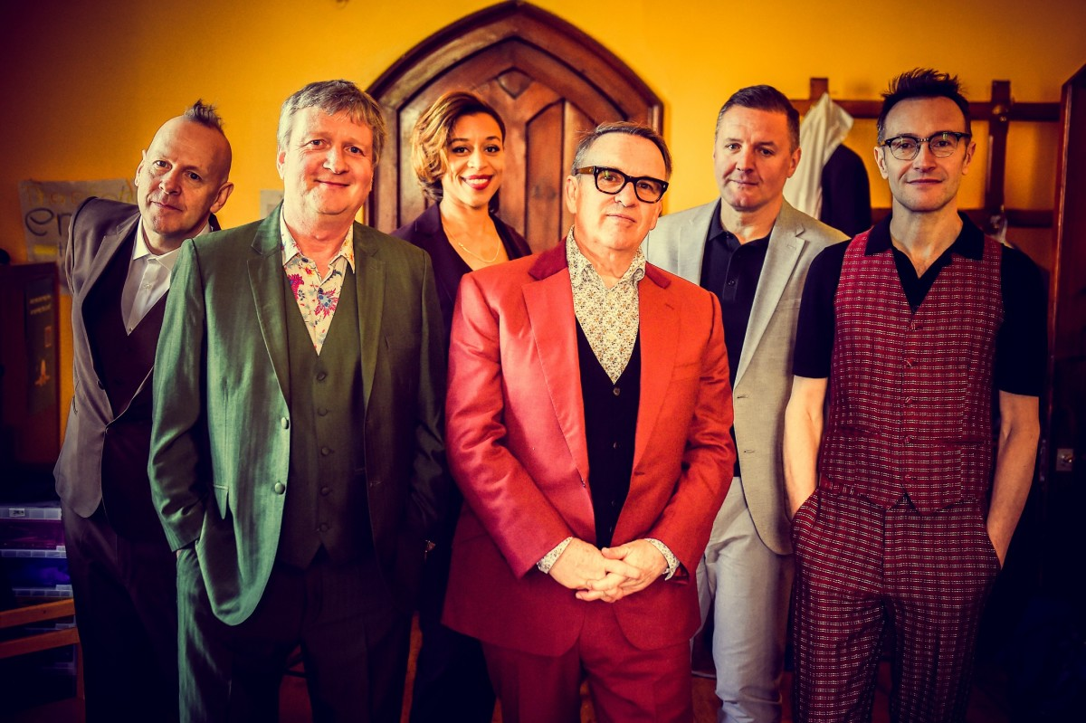 Squeeze, pictured here, and Hall & Oates are playing a number of shows together in North America this year, which included an outstanding show at New York City's Madison Square Garden on Friday, February 28th. (Photo by Danny Clifford)