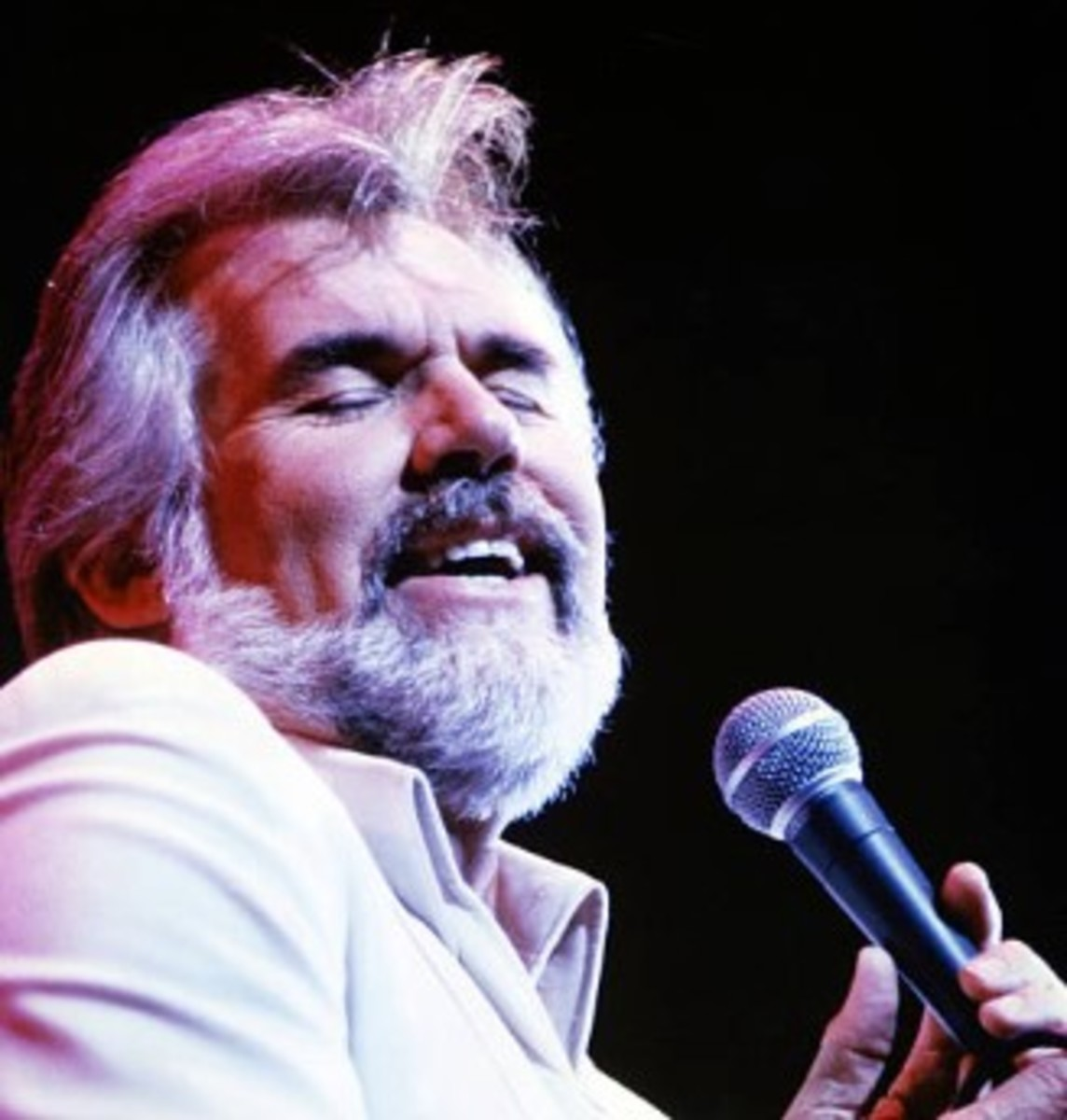 Kenny Rogers in concert, circa 1980, Getty Images