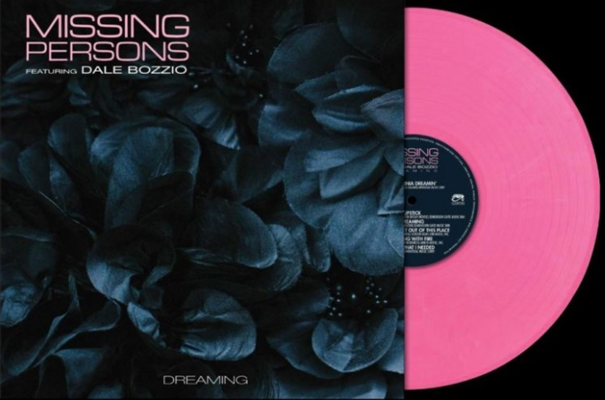 Cleopatra Records has released Dreaming by Missing Persons on all formats including pink vinyl