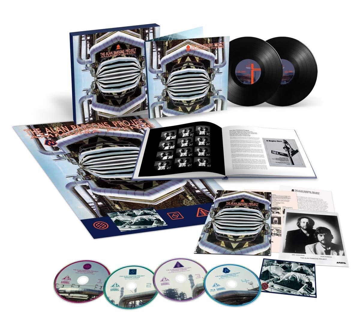 Ammonia Avenue Limited Deluxe Edition box set (2-LP, 3-CD, Blu-ray and bonus material)