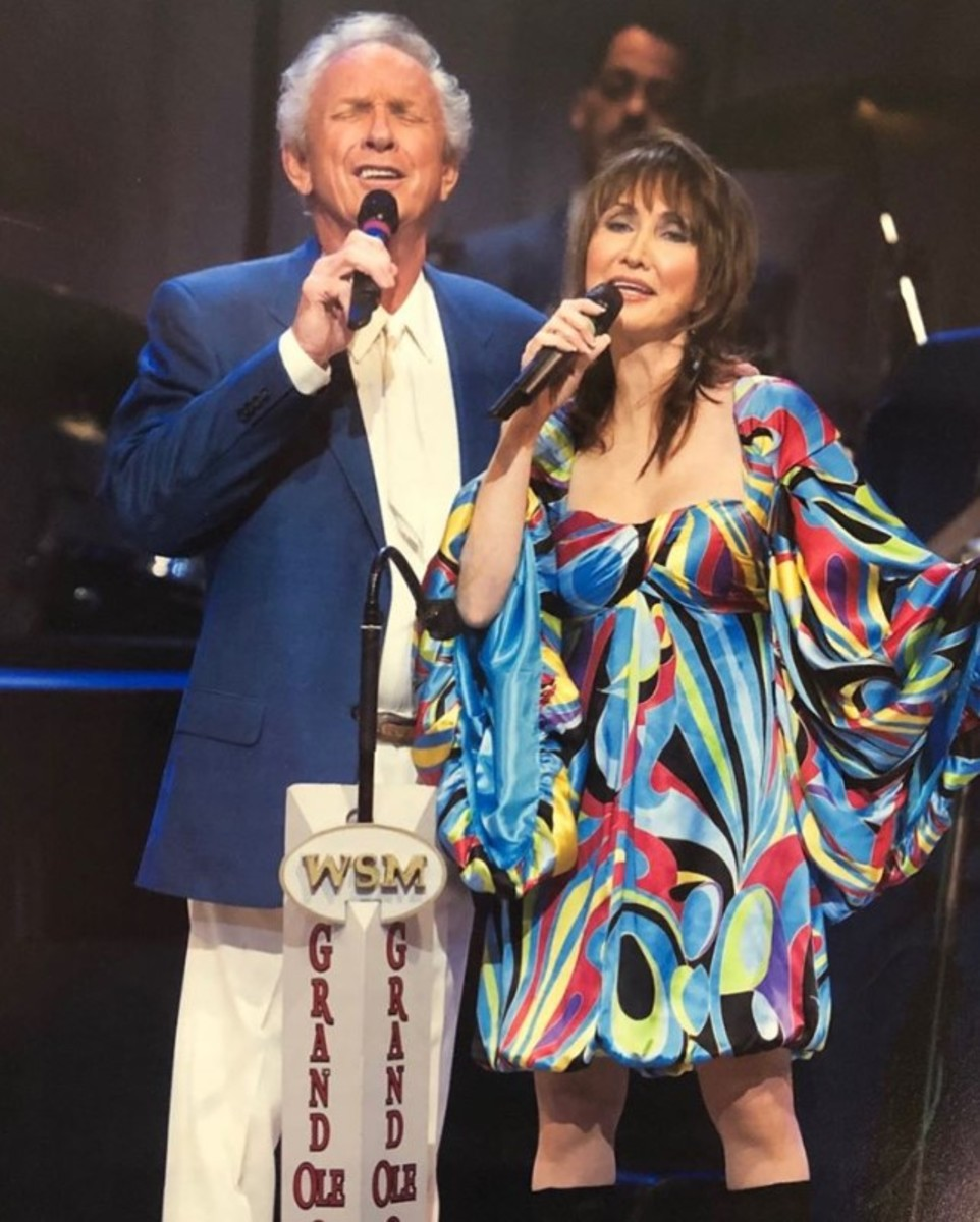 Father and daughter Mel and Pam, courtesy of Facebook: Pam Tillis Official Music Page